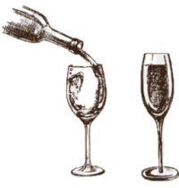 wine-pouring